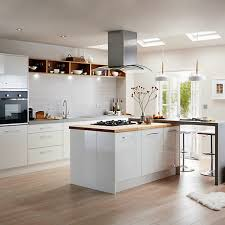 kitchens, newly fitted